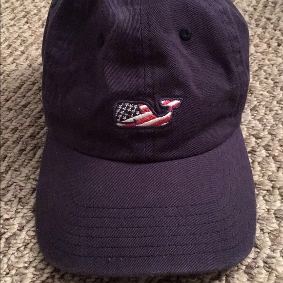 6a2537012b0 Vineyard Vines Accessories - Vineyard Vines Navy Blue Baseball Hat